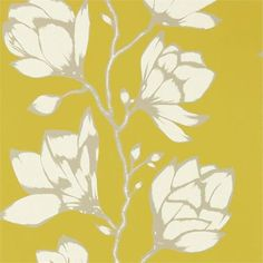 This beautiful wallpaper from Harlequin has an intricate little crackle on the petals and glamorous metallic detail on the leaves mitcham melbourne australia