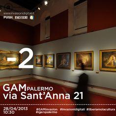- 2 alla #GAMinvasion! #Palermo #invasionidigitali #liberiamolacultura