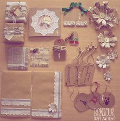 tags, cards, envelopes DIY
