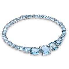 """One of a kind blue topaz necklace! With a touch of blue, this would be the perfect """"something blue"""" for your wedding day. Jewelry Design Earrings, Art Deco Jewelry, Cute Jewelry, Jewelry Accessories, Aquamarine Jewelry, Diamond Jewelry, Antique Jewelry, Vintage Jewelry, Blue Necklace"""