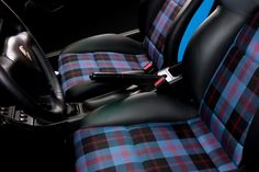 We sell fabric for all sorts of random projects and re-covering car seats seems to be a current favourite. Our polyviscose tartan fabric is the favourite but as the range is limited to get the correct tartan or a colour match the 16oz wool is another great option. More expensive but very hard wearing and …