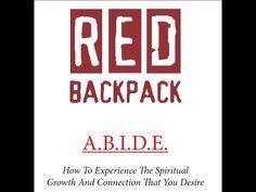 Red Backpack, Spiritual Growth, Spirituality, Calm, Facebook, Live, Spiritual