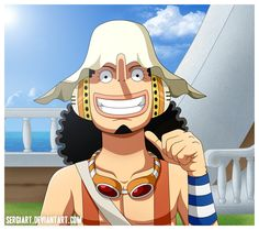 One Piece - Sniper Usopp by SergiART on deviantART