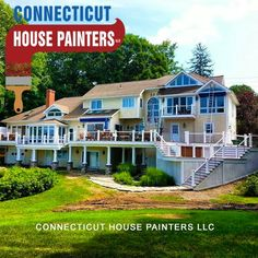 Exterior house Painting in Waterford, CT free estimates  Http://www.connecticuthousepainters.com/house-painters-waterford-ct