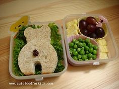 Bear BENTO (use with We're Going on a Bear Hunt)