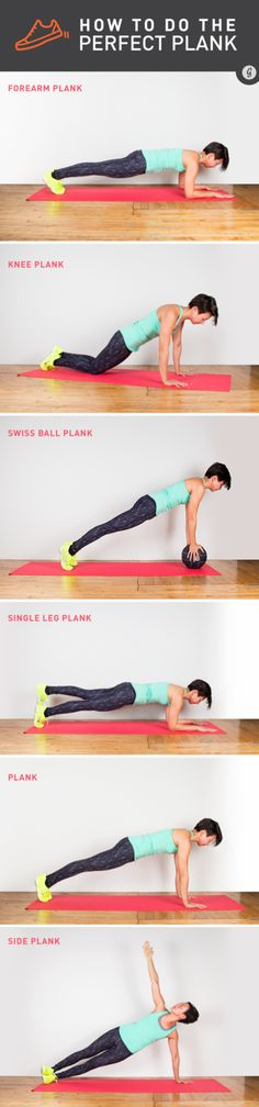 How to Do the Perfect Plank #plank #bodyweight