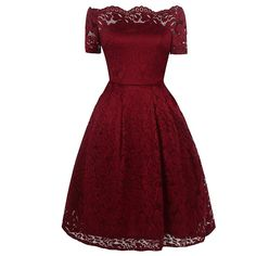 #Spring #AdoreWe #SammyDress - #Rosewholesale 2017 Summer Embroidery Sexy Women Lace Off Shoulder Short Sleeve Casual Evening Party A Line Formal Dress - AdoreWe.com