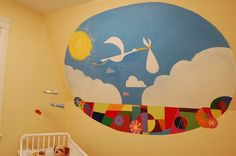 The wall mural from the movie Up. Maybe not as a mural, but in a frame ;)