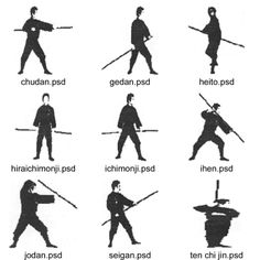 Japanese Weaponry - Bujinkan Mushin Dojo webpage  Need to find similar reference for bo staff strike/position names...