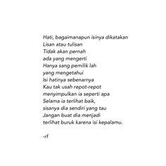 Self Love Quotes, True Quotes, Qoutes, Muslim Quotes, Islamic Quotes, New Reminder, Cinta Quotes, School Quotes, Quotes Indonesia