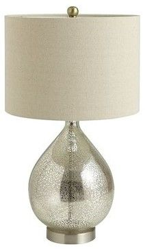 Teardrop Luxe Lamp - traditional - table lamps - Pier 1 Imports Soft and pretty.