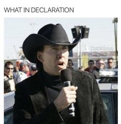 what in declaration | What in Tarnation | Know Your Meme