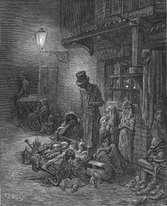 Houndsditch - Gustave Dore
