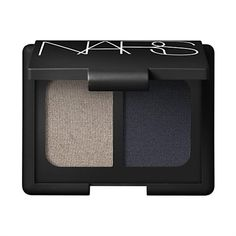NARS Dogon Duo Eyeshadow  Metallic taupe with icy green sheen / Charcoal black