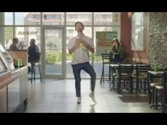 Funny Subway $6 Footlong Sub of the Day TV Commercial, 'Dancing Feet'