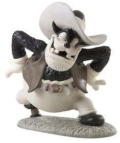 WDCC Disney Classics_Two Gun Mickey Peg Leg Pete Ornery Outlaw