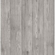 Create a fresh look with this faux wood wallpaper. With a light grey hue, this wooden plank wallpaper is perfect for farmhouse styled homes. Mammoth is a paste the wall, non woven wallpaper. Grey Wallpaper Samples, Wood Wallpaper, Wallpaper Roll, Brown Wallpaper, 3d Max, Grey Wood, Distressed Wood, 5 W, Wood Accents