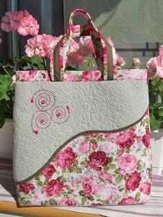Mooie tas , geen patroon .
