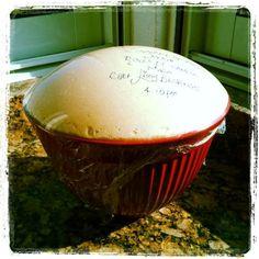 My Homemade Cinnamon Roll Dough ready to use it & Mi Masa de los Roles de Canela lista para preparase...