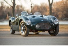 Oh my goodness, would you look at those curves? 1956 HRG Twin Cam Roadster Chassis no. 1N502TL Engine no. 47600451