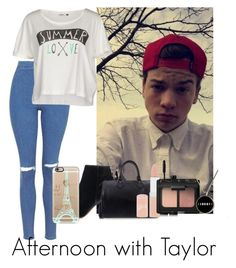 """""""Afternoon with Taylor"""" by autumnfarmer on Polyvore featuring Topshop, ONLY, Louis Vuitton, Rimmel, NARS Cosmetics and Casetify"""
