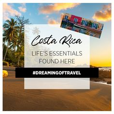 Costa Rica 🇨🇷. A beautiful country with plenty of action adventures to do on your vacation!