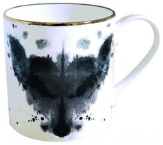 Fox Inkblot Mug - eclectic - glassware - MyHaus