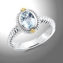 Colore Aquamarine Ring