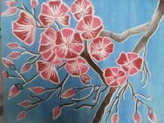 Cheerry blossom Japanese art