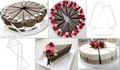 Eine Torte ganz ohne Kalorien...nur aus Papier