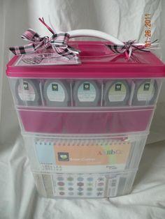 Storage for Cricut accessories!