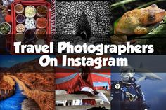 Need some travel inspiration? Follow my favorite Instagram travel photographers as they capture beautiful images from around the world.