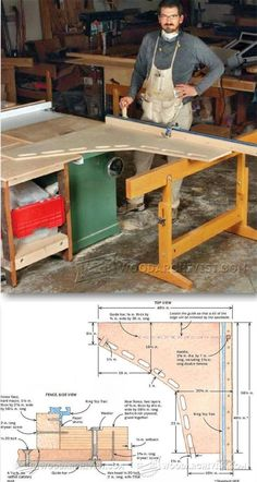 Ultimate Crosscut Sled - Table Saw Tips, Jigs and Fixtures | WoodArchivist.com