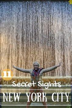 Secret sights and hidden gems New York City