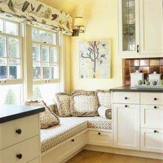 21 Vorschläge für gemütliche und bequeme Sitzecke am Fenster