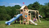 Wooden swing sets Frolic 5