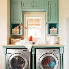 laundry room idea by Queen Esther