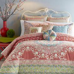 Jessica Simpson Home Amrita Medallion 3 Piece Comforter Set & Reviews | Wayfair
