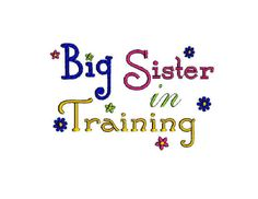 Big Sister digital machine embroidery by Institchesembroidery