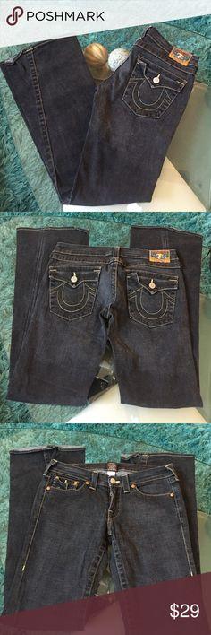 True Religion jeans Good condition True Religion jeans size 30 inseam 34 True Religion Jeans Boot Cut