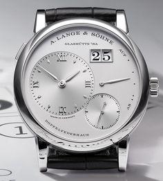 A. Lange & Söhne – LANGE 1. Watch legend, second generation.