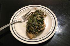Intern Kitchen: Natalie's Spinach Pesto Chicken Breasts