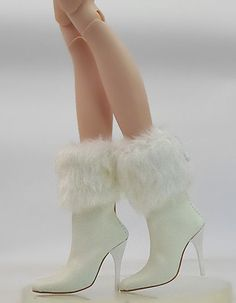 "Tonner 18.5"" New Vinyl/Resin Evangeline Ghastly Fashion Boots/Shoes (6-EGB-2"