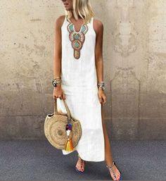 1ee351efce 40 Popular White boho dress images in 2019