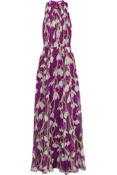 Matthew Williamson - Printed silk-chiffon gown