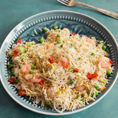 Such a simple, yet tasty side dish! This rice is light, easy and quick to make. It's also great because you can change up the ingredients depending on what you have in the fridge, the more veggies the better!
