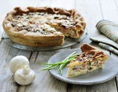 You can do much more than just frying in the Airfryer. Take this tasty quiche Lorraine for example. For a change, make it with salmon and finely chopped broccoli. Quiche Lorraine, Quiche Recipes, Appetisers, Air Fryer Recipes, Tasty Dishes, Quiches, Salmon Burgers, Cooking Time, Bon Appetit