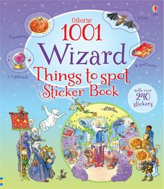 1001 wizard things to spot sticker book - NEW FOR JULY 2015