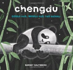 Chengdu Could Not, Would Not, Fall Asleep cute little bedtime book with panda