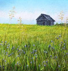 Monika Kinner-Whalen Embroidery Artist Canada My Sweet Prairie Studio